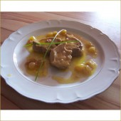 Foie Gras Sauce aux Raisins